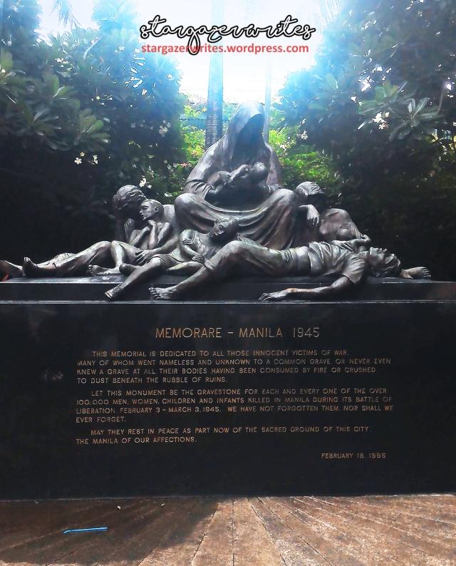 Memorare Manila 1945 Monument